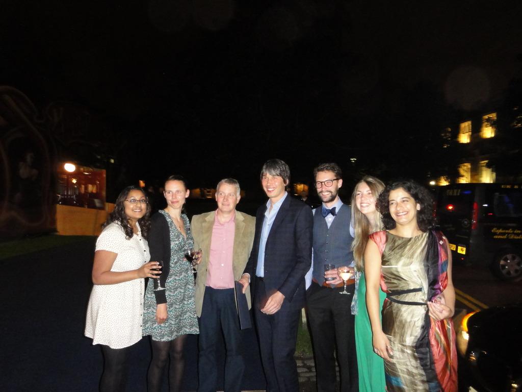 Media Fellows meet Brian Cox