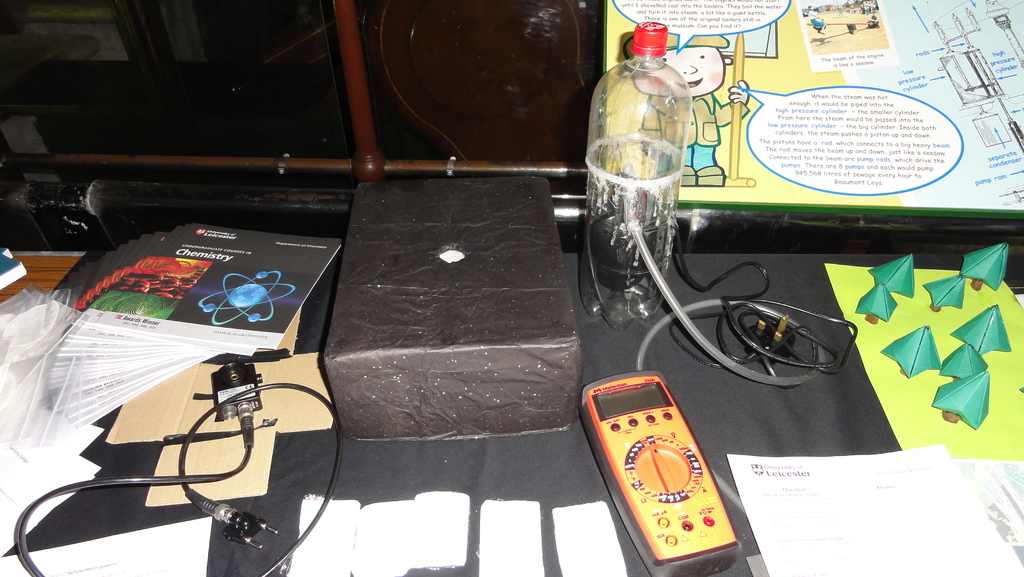 A home made particle counter