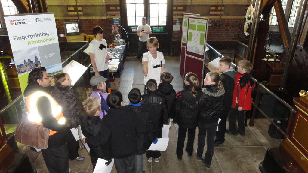 The Atmospheric Chemistry stand
