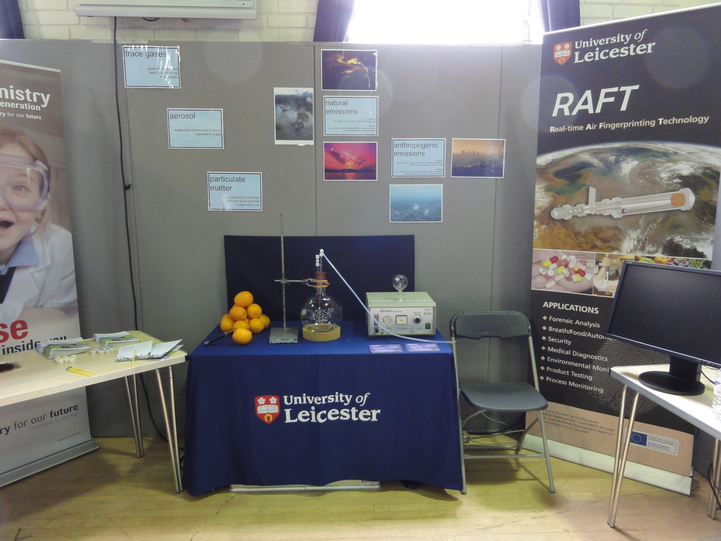 The exhibition stand