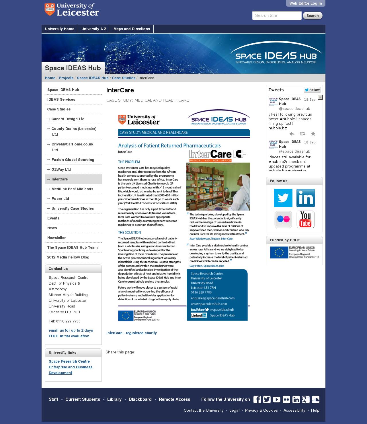 Website: case study