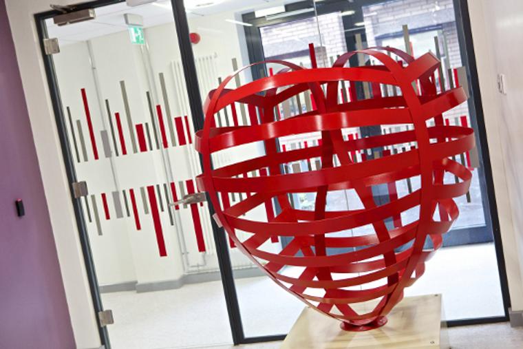 Heart Art ©LCBRU, University of Leicester