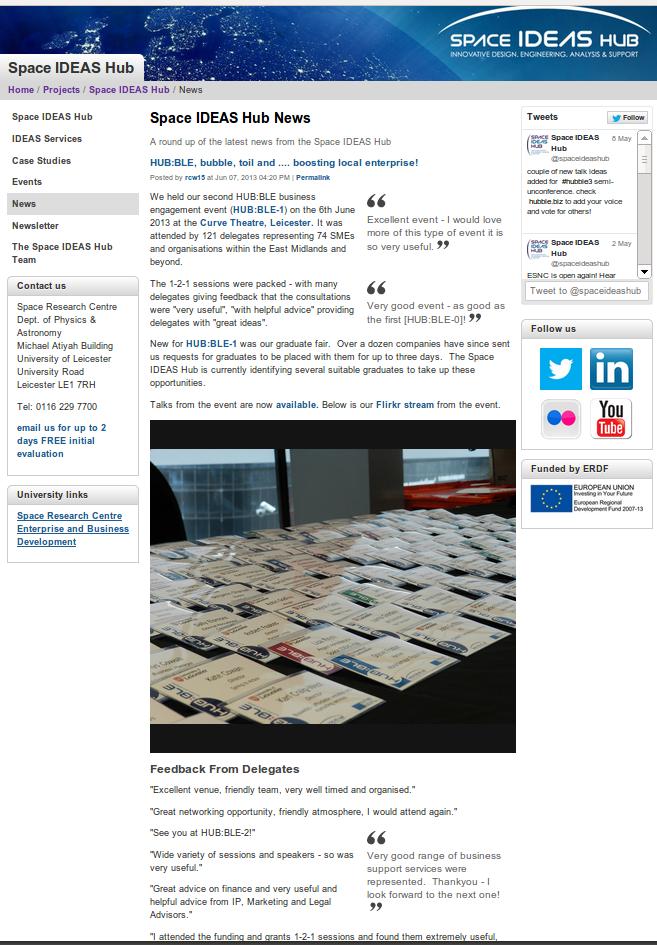 Website: newsfeed