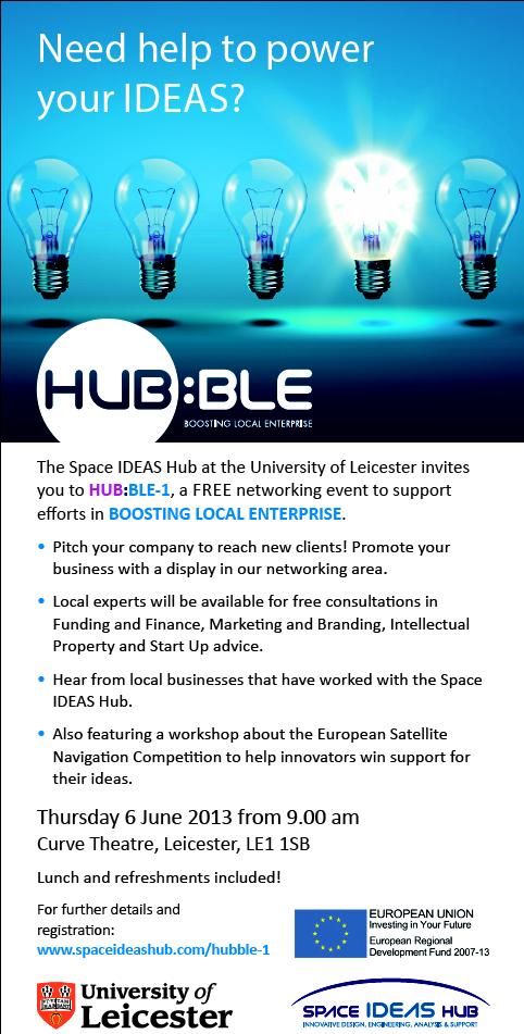 Leicester Mercury Event Advert ©Space IDEAS Hub