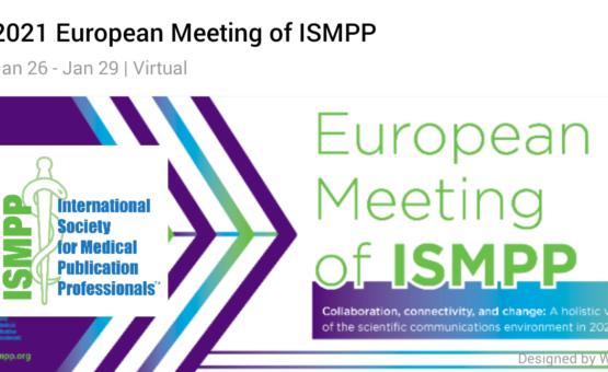 logo of the ISMPP European meeting